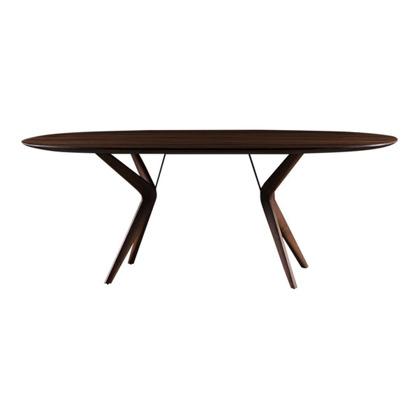 Lakri Oval Dining Table