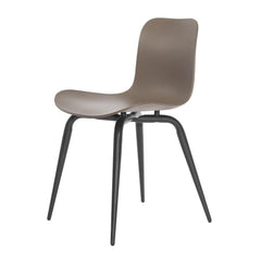 Langue Avantgarde Dining Chair - Steel Legs, Plastic