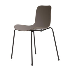 Langue Stack Dining Chair - Plastic Seat