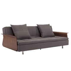 Long Horn Dual Sofa with Arms