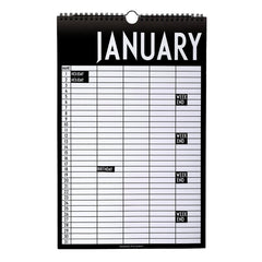 AJ Vintage ABC Monthly Planner