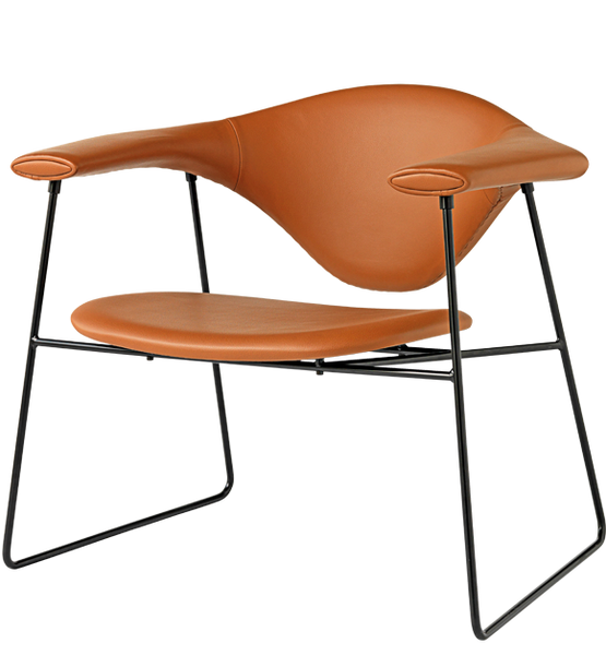 Masculo Lounge Chair - Sledge Base