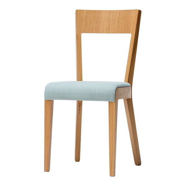 Chair Era - Seat Upholstered - Oak Pigment Frame