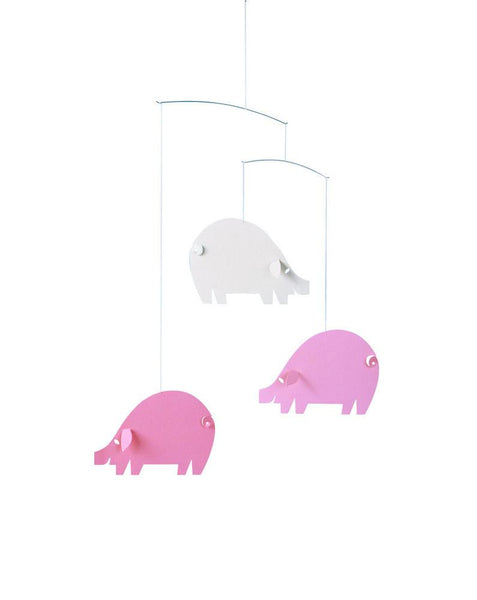 Mobiles - Piggy In Pink