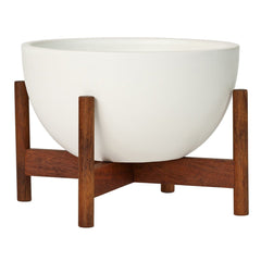 Case Study Ceramics Table Top Bowl w/ Stand