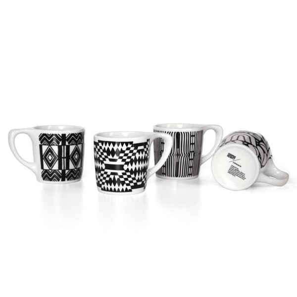 Mugs - Cooper Hewitt LINO Coffee Mug Set Of 4
