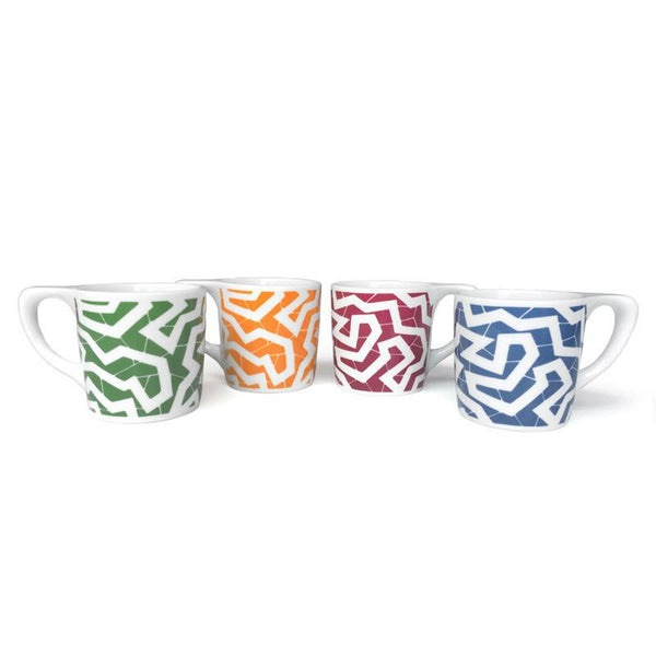 Cooper Hewitt 'Spinne' Coffee Mug Set/4