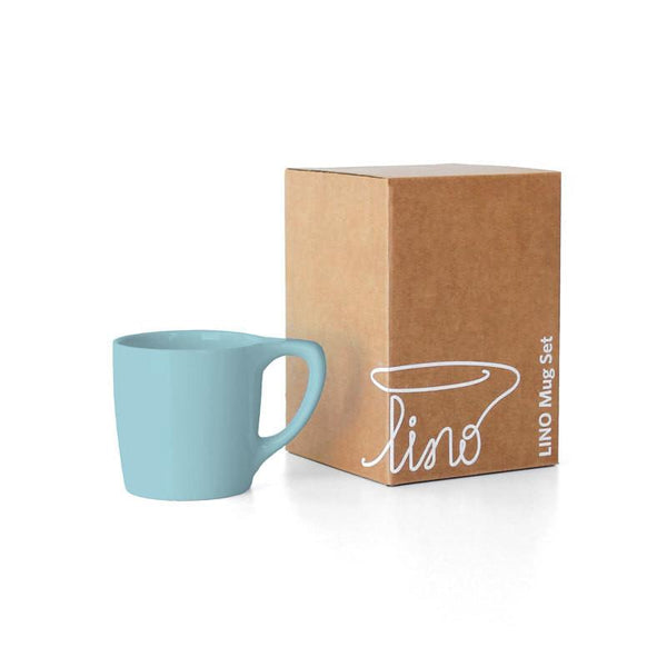 LINO Coffee Mugs in Color - Set of 2