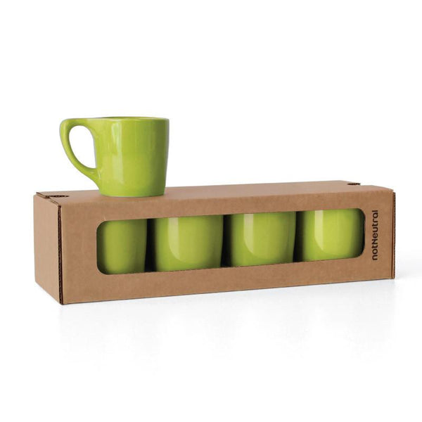 LINO Coffee Mugs in Color - Set of 4