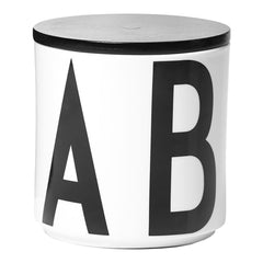 AJ Vintage ABC Large Wooden Lid