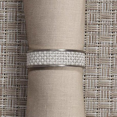 Napkin Holders & Rings - 1/2 Inch Mini Basketweave Napkin Ring