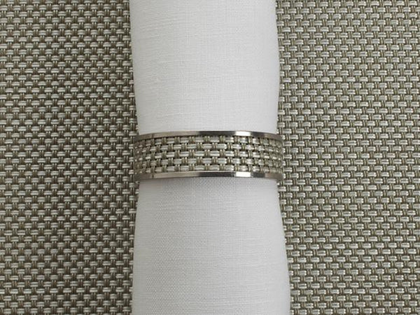 1/2 inch Mini Basketweave Napkin Ring