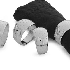 Napkin Holders & Rings - Dazzle Napkin Rings - Set Of 4
