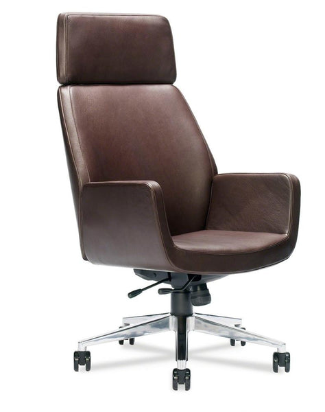 Bindu Executive Chair - High Back, Leather