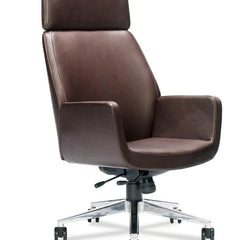Office Chairs - Bindu Executive Chair - High Back, Leather