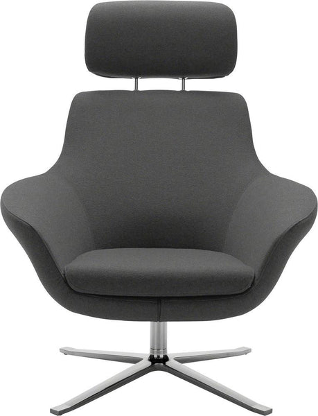 Office Chairs - Bob Lounge Chair With Headrest