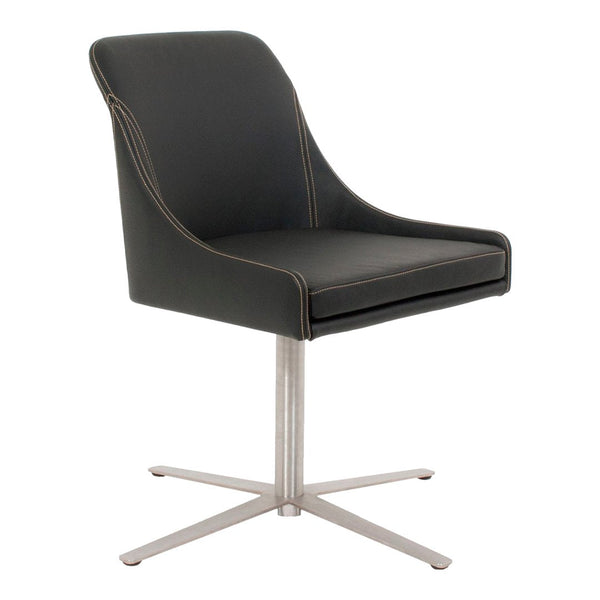 Office Chairs - Youma Casual Side Chair - Swivel Base