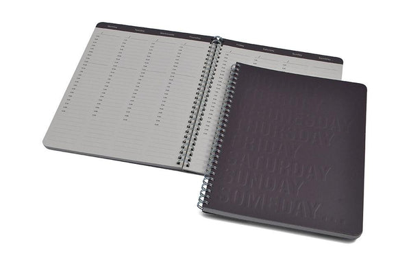 Office Supplies - 8 Days-a-Week Embossed Journal