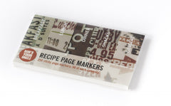 Office Supplies - Recipe Page Markers
