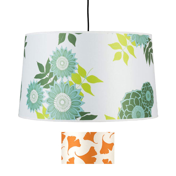 Weegee Pendant Lamp - shade: orange ginkgo - Outlet Item (Condition: Opened box)