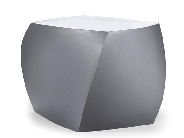 Frank Gehry Silver Three Sided Cube