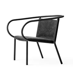 Outlet - Afteroom Lounge Chair - Black Dunes Leather - Outlet