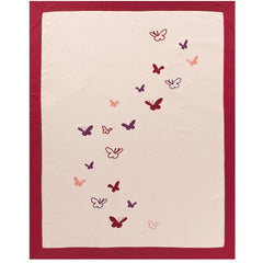Outlet - Butterflies Duvet Set Outlet Item (Condition: Opened Box)