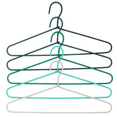 Outlet - Cord Hanger Fade - Set Of 5 - Green - Outlet