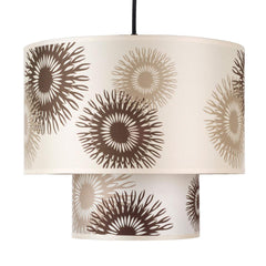 Outlet - Deco Medium Pendant Lamp - Shade: Natural Linen Shade - Outlet Item (Condition: Opened Box)