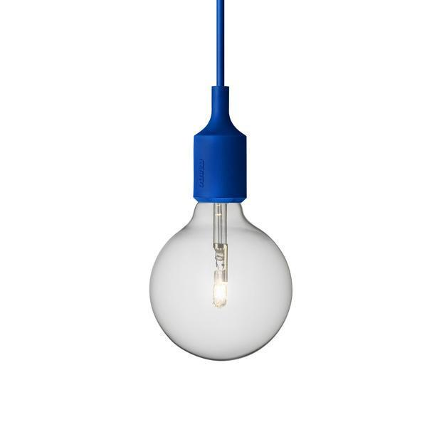 Outlet - E27 Pendant Lamp - Blue / Not UL Listed - Outlet