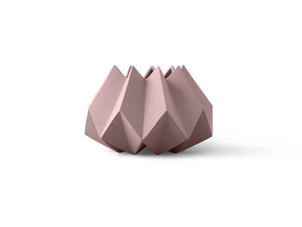 Outlet - Folded Vase - Taupe - Outlet