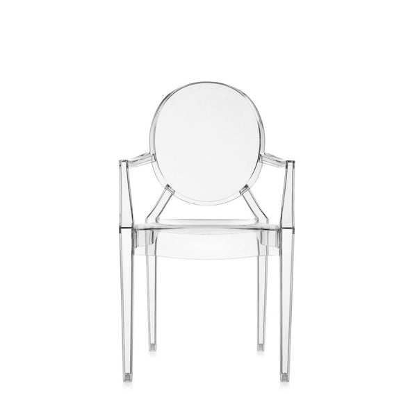 Kartell LouLou Ghost Chair - Transparent Crystal, Set of Four - Outlet