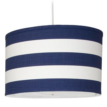 Outlet - Large Cylinder - Stripe - Cobalt Blue - Outlet