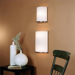 Outlet - Meridian Large Wall Sconce - Shade: Kimono On Silk Shade - Outlet Item (Condition: Opened Box)