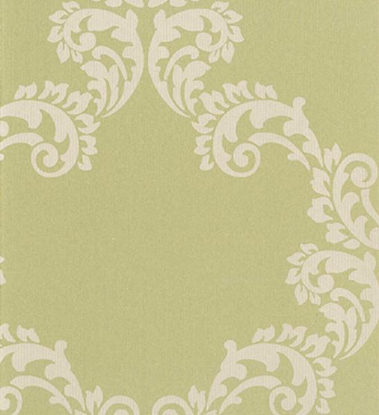 Outlet - Mode Wallpaper - Palace Pattern - In Olive Outlet Item (Condition: Opened Box)