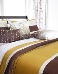 Outlet - Nourish In Amber Duvet Covers And Shams - King - Outlet Item (Condition: Opened Box)