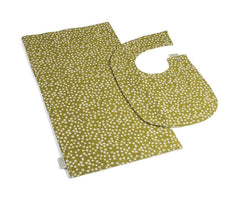 Outlet - Pav Bib & Burp Canvas Cloth Set - Outlet