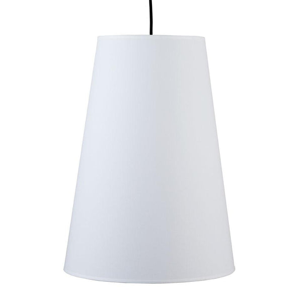 Outlet - Reza Pendant Lamp - Shade: Natural Linen Shade - Outlet Item (Condition: Opened Box)
