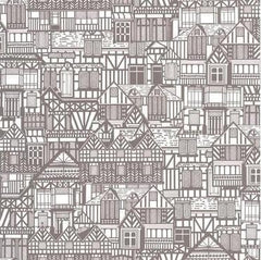 Outlet - Tudor Homes Wallpaper - Outlet Item (Condition: Open Box)