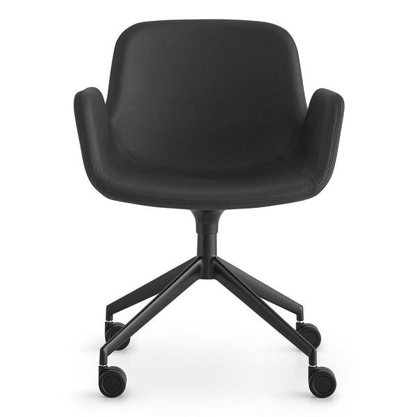 Pass Office Chair, 4-Star Base w/ Castors - Upholstered