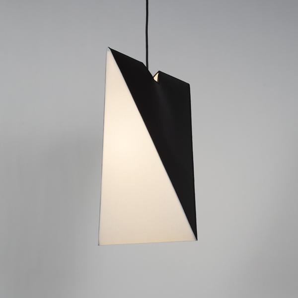 Chevron Pendant Light