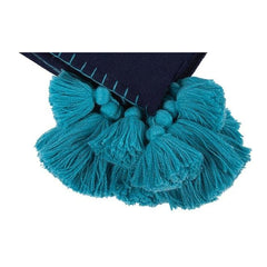 Pom Pom Solid Throw