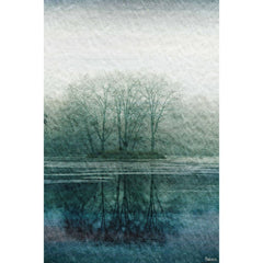 Posters & Prints - Apple Lake Painting