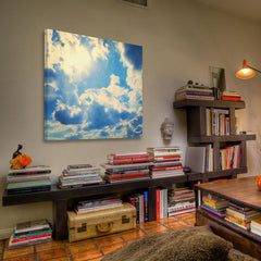 Posters & Prints - Clouds Painting