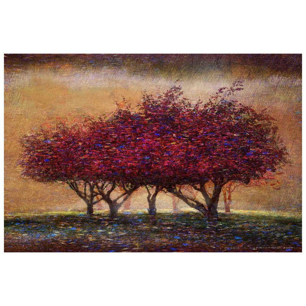 Posters & Prints - Crabapple Blossoms Painting