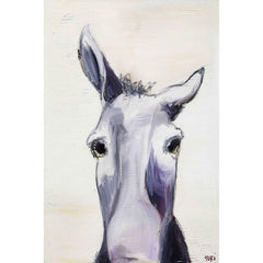 Posters & Prints - Donkey Painting