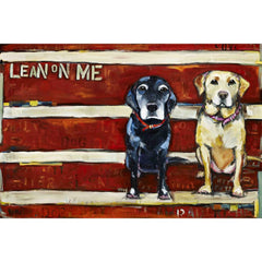 Lean on Me Painting