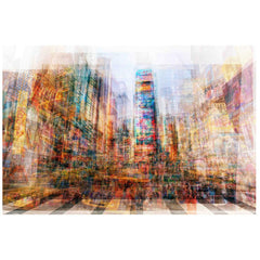 New York Times Sq Painting