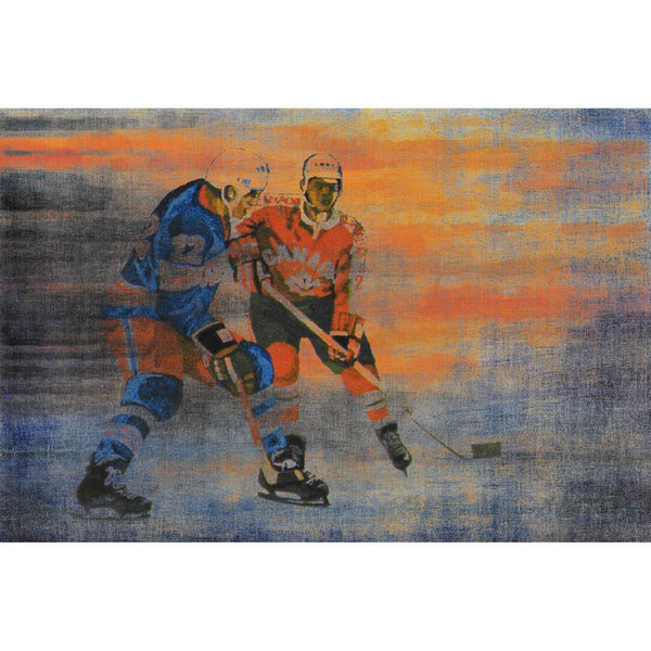USA vs CAN Painting