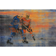 Posters & Prints - USA Vs CAN Painting